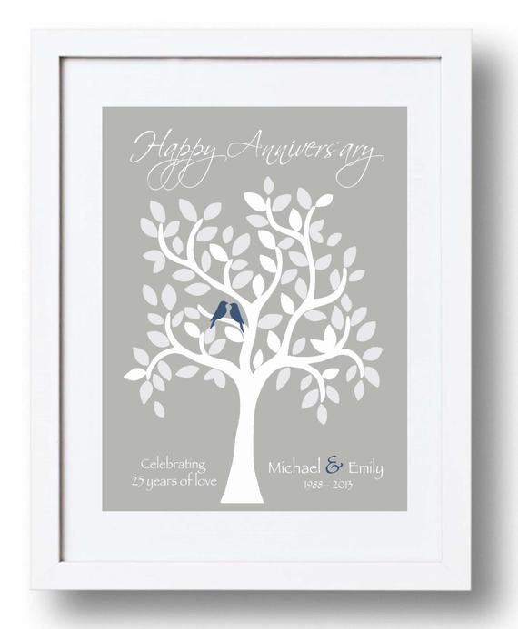 Best ideas about 25Th Anniversary Gift Ideas For Parents . Save or Pin Wedding Anniversary Gifts 25th Wedding Anniversary Gifts Now.