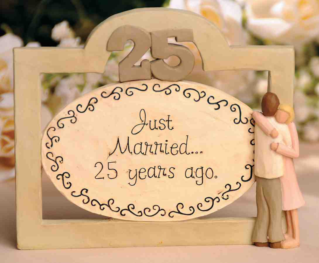 Best ideas about 25Th Anniversary Gift Ideas For Parents . Save or Pin 25Th Wedding Anniversary Gifts For Parents Wedding and Now.