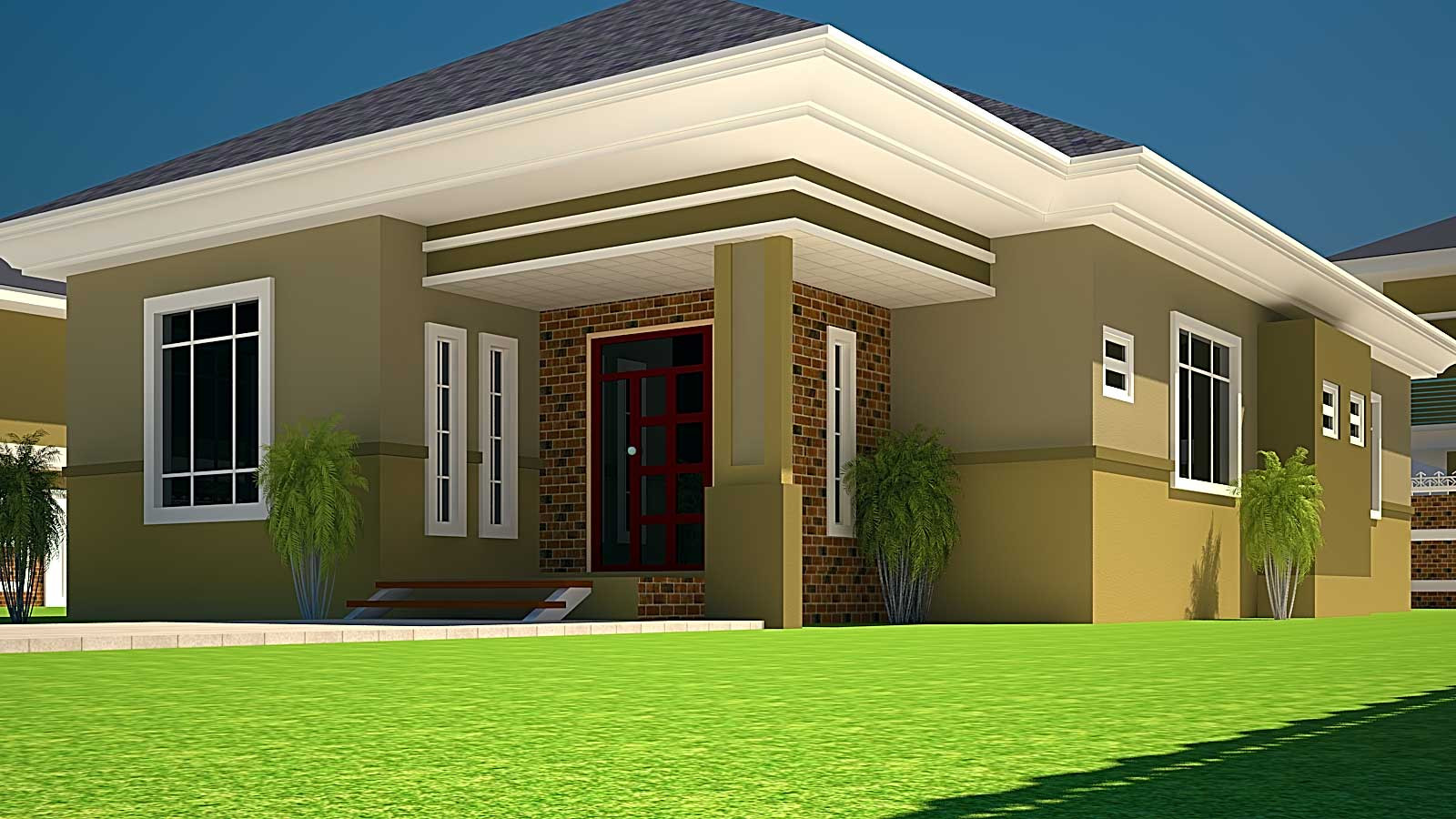 Best ideas about 3 Bedroom House . Save or Pin House Plans Ghana Now.