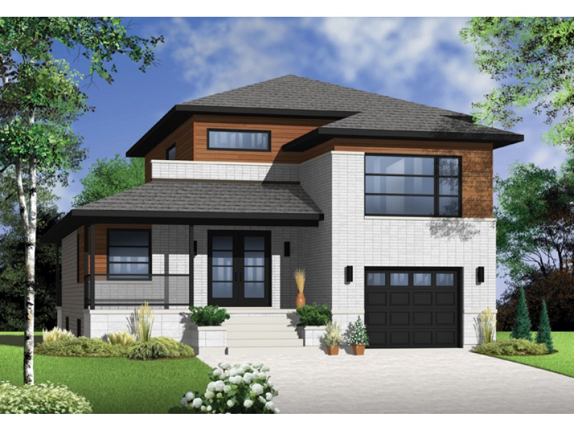 Best ideas about 3 Bedroom House . Save or Pin 3 Bedroom Modern House Plans Picture — MODERN HOUSE PLAN Now.