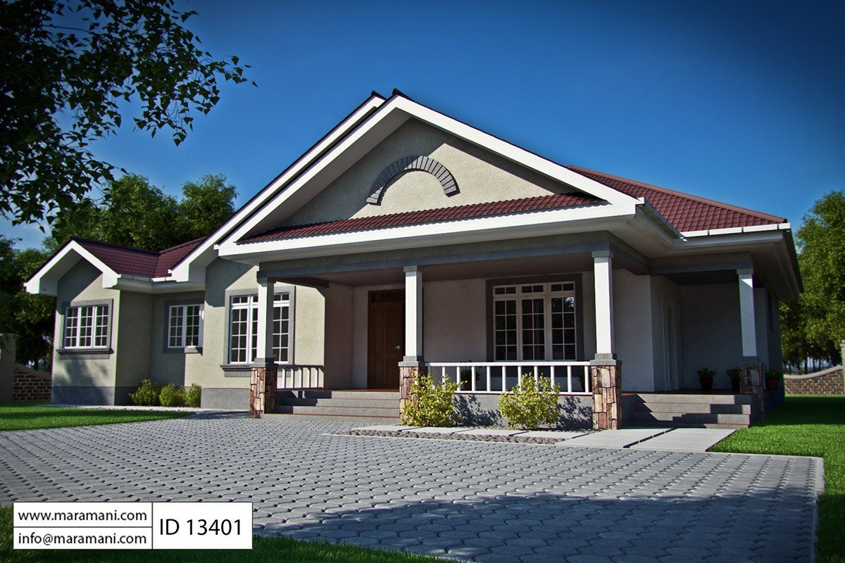 Best ideas about 3 Bedroom House . Save or Pin 3 bedroom bungalow house plan ID House Plans by Now.