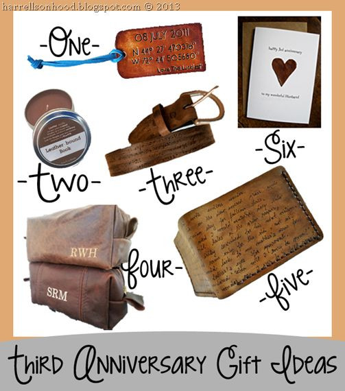 Best ideas about 3 Year Anniversary Gift Ideas For Him . Save or Pin Traditional 10 Year Anniversary Gift for Her 37 Best Three Now.