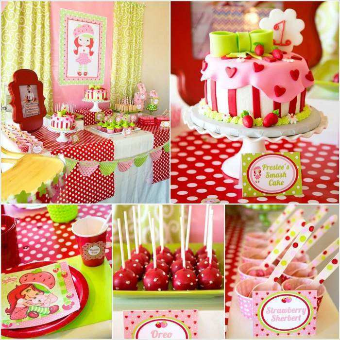 Best ideas about 3 Year Old Birthday Party Ideas . Save or Pin strawberry shortcake birthday party ideas 3 year old Now.