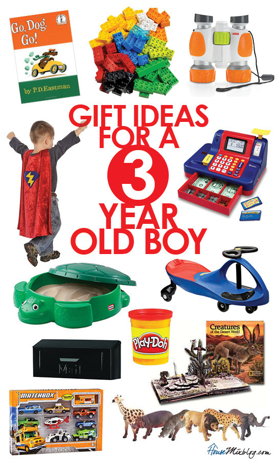Best ideas about 3 Year Old Christmas Gift Ideas . Save or Pin Toys for a 3 year old boy Now.