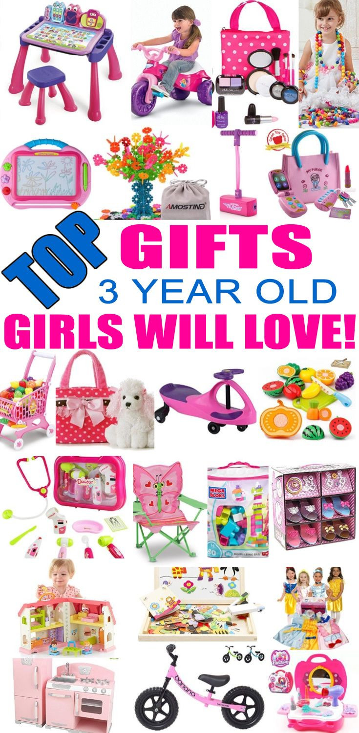 Best ideas about 3 Year Old Christmas Gift Ideas . Save or Pin Best Gifts for 3 Year Old Girls Now.