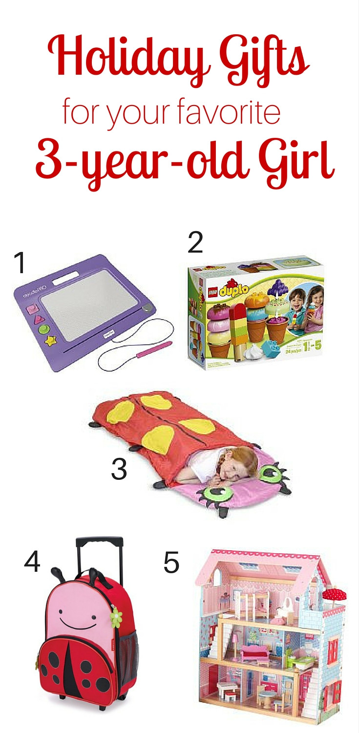Best ideas about 3 Year Old Christmas Gift Ideas . Save or Pin Holiday Gift Guide for the 3 year old Girl in Your Life Now.