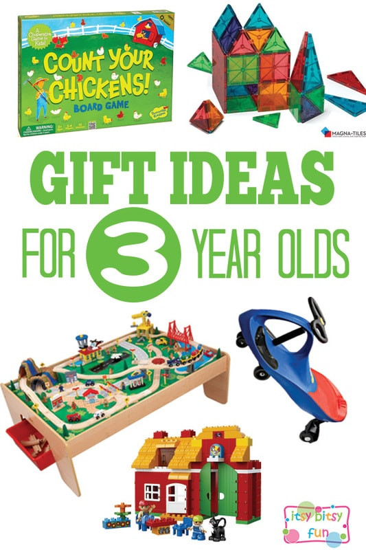Best ideas about 3 Year Old Christmas Gift Ideas . Save or Pin Gifts for 3 Year Olds Itsy Bitsy Fun Now.