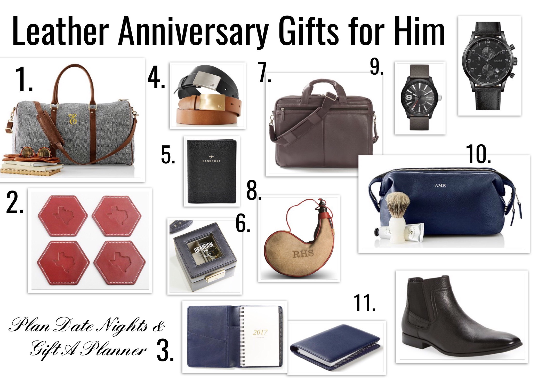 Best ideas about 3 Year Wedding Anniversary Gift Ideas For Him . Save or Pin 3 Year Anniversary Leather Gift Ideas For Him Now.