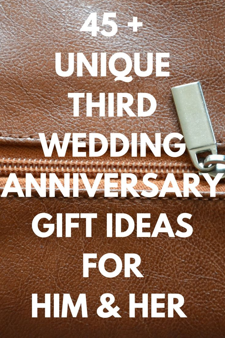 Best ideas about 3 Year Wedding Anniversary Gift Ideas For Him . Save or Pin 3rd Year Wedding Anniversary Gift Ideas For Her – Gift Ftempo Now.