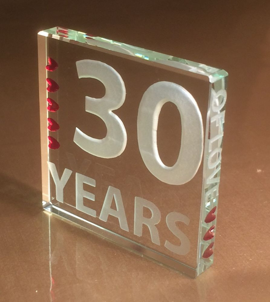Top 20 30 Year Anniversary Gift Ideas Best Collections