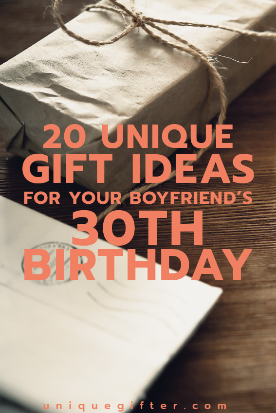Best ideas about 30Th Birthday Gift Ideas For Boyfriend . Save or Pin 30th Gift Ideas For Your Boyfriend Gift Ftempo Now.