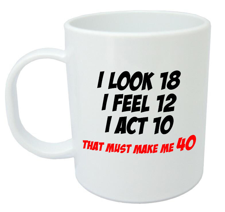 Best ideas about 40Th Birthday Gift Ideas For Men . Save or Pin Makes Me 40 Mug Funny 40th Birthday Gifts Presents for Now.