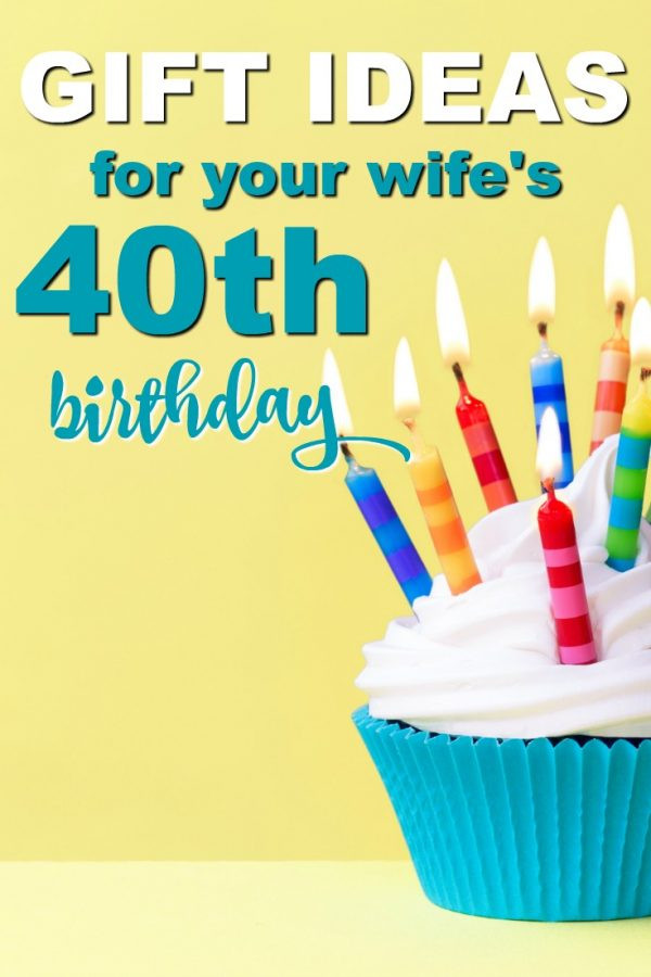Best ideas about 40Th Birthday Gift Ideas For Wife . Save or Pin 20 Gift Ideas For Your Wife's 40th Birthday Unique Gifter Now.
