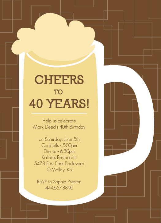 Best ideas about 40th Birthday Invitations . Save or Pin Invitations For 40th Birthday Quotes QuotesGram Now.