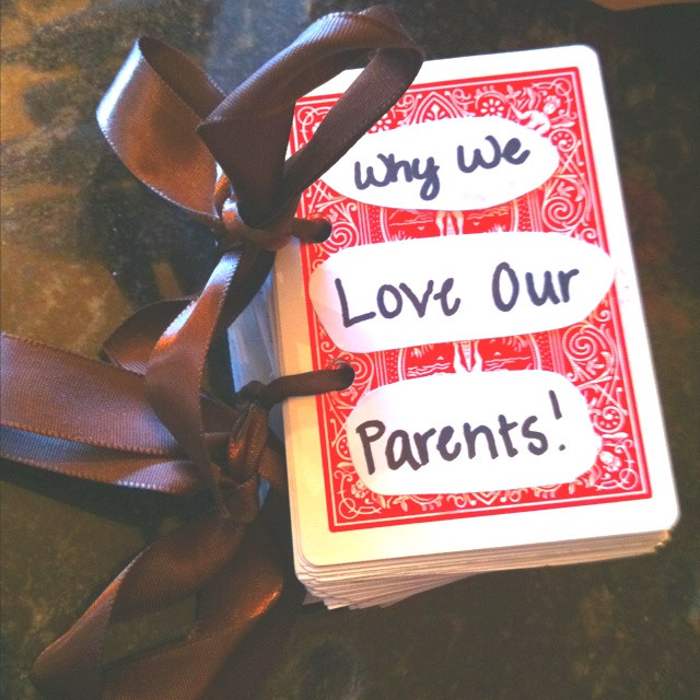 Best ideas about 50Th Anniversary Gift Ideas For Parents . Save or Pin 76 best images about 50th Anniversary scrapbook ideas on Now.