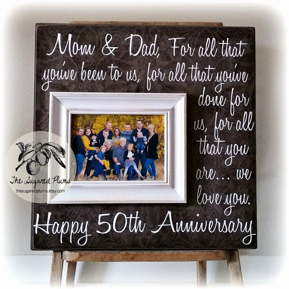Best ideas about 50Th Anniversary Gift Ideas For Parents . Save or Pin Anniversary Quotes for Parents Lovely Parents 50th Wedding Now.
