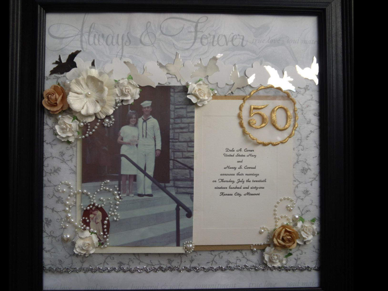 Best ideas about 50Th Anniversary Gift Ideas For Parents . Save or Pin 50th Wedding Anniversary Gift Ideas For Parents — Wedding Now.