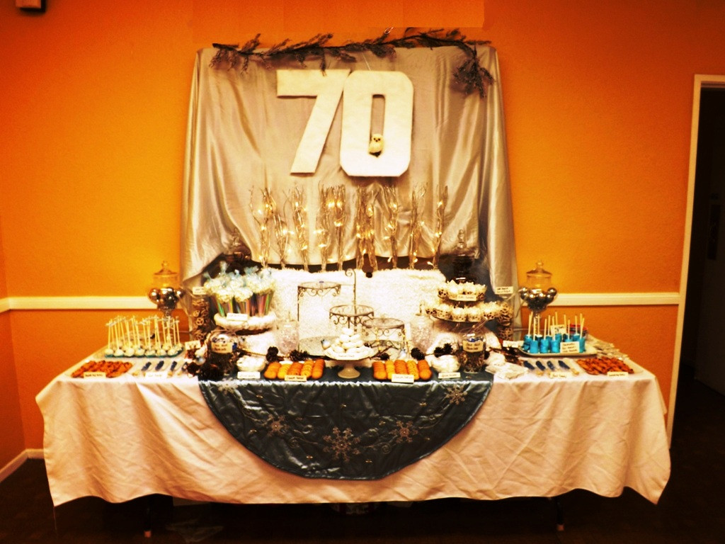 Best ideas about 70th Birthday Party Decorations . Save or Pin The Precious 70th Birthday Party Ideas for Mom Now.