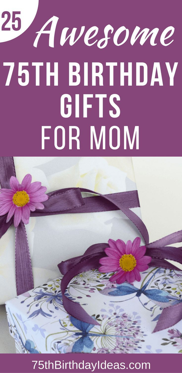 Best ideas about 75Th Birthday Gift Ideas . Save or Pin 130 best 75th Birthday Gift Ideas images on Pinterest Now.