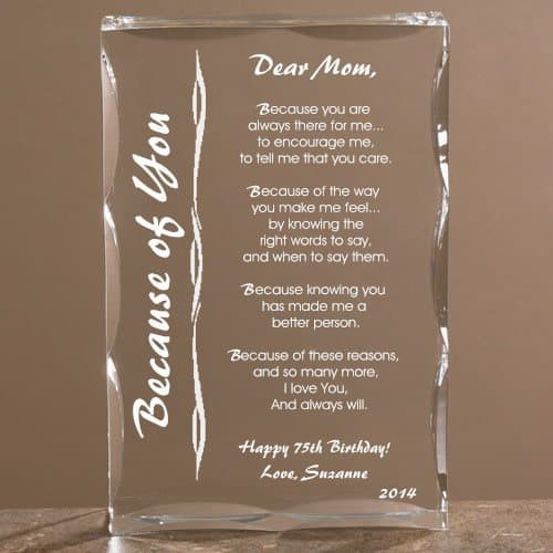 Best ideas about 75Th Birthday Gift Ideas . Save or Pin 75th Birthday Gift Ideas for Mom 25 Gifts to Thrill Your Now.