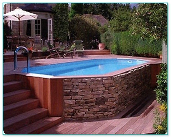 Best ideas about Above Ground Pool Installation Cost . Save or Pin Ground Pool And Deck Cost Now.