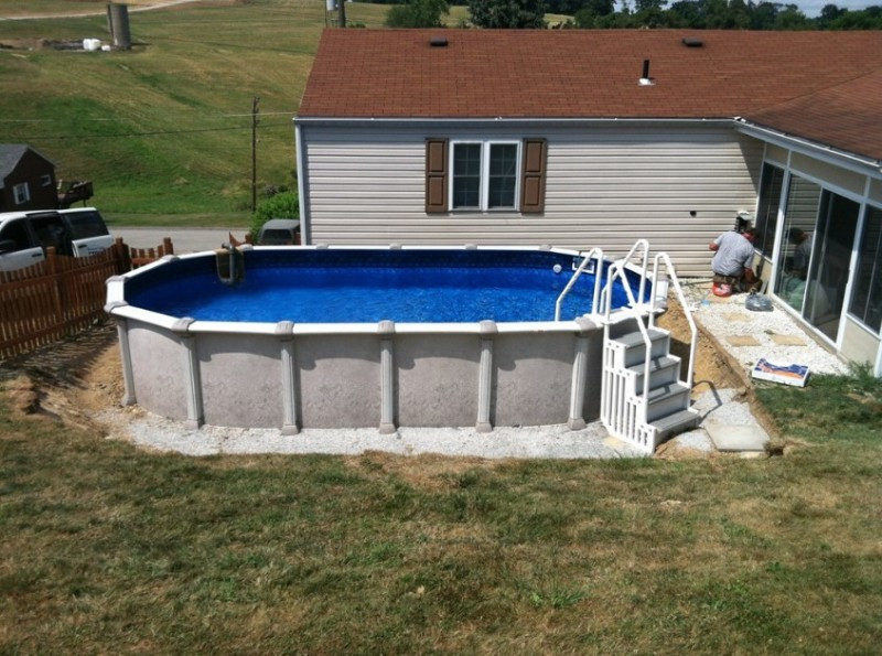 Best ideas about Above Ground Pool Installation Cost . Save or Pin Ground Pool Installation Cost and How to Install Now.