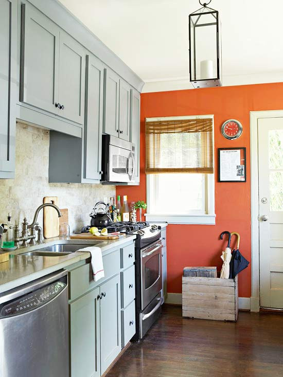Best ideas about Accent Wall In Kitchen . Save or Pin Fresh & Unique Kitchen Ideas The Inspired Room Now.