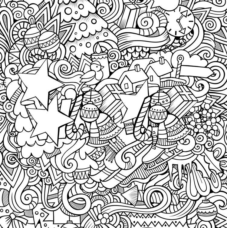 Best ideas about Adult Christmas Coloring Books . Save or Pin 22 Christmas Coloring Books to Set the Holiday Mood Now.