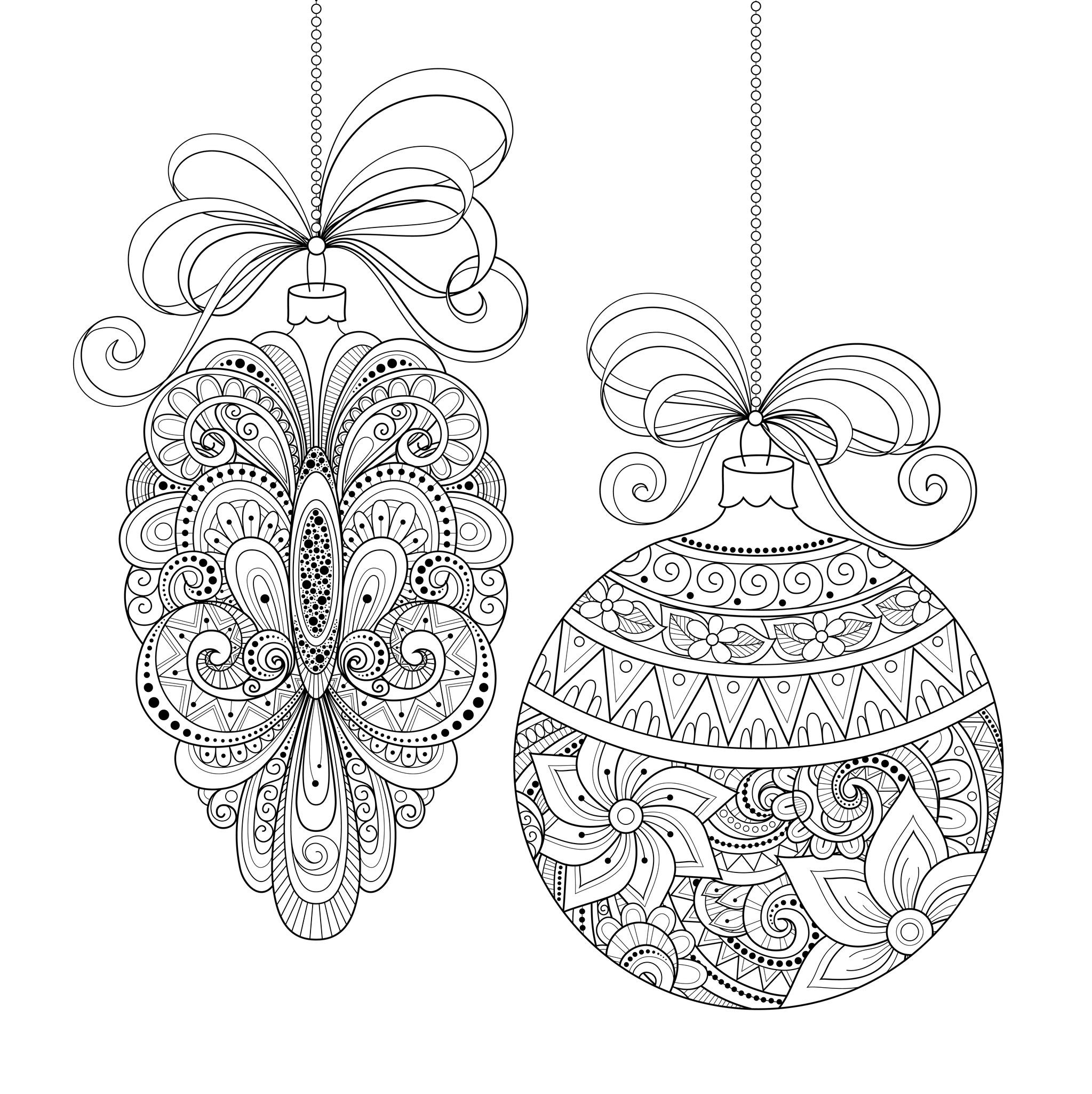 Best ideas about Adult Christmas Coloring Books . Save or Pin Christmas Coloring Pages for Adults Best Coloring Pages Now.
