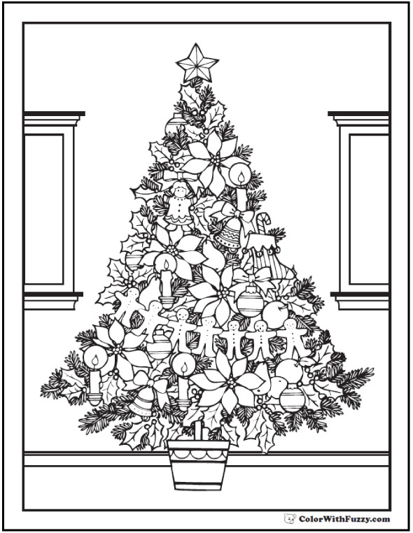 Best ideas about Adult Christmas Coloring Books . Save or Pin 42 Adult Coloring Pages Customize Printable PDFs Now.