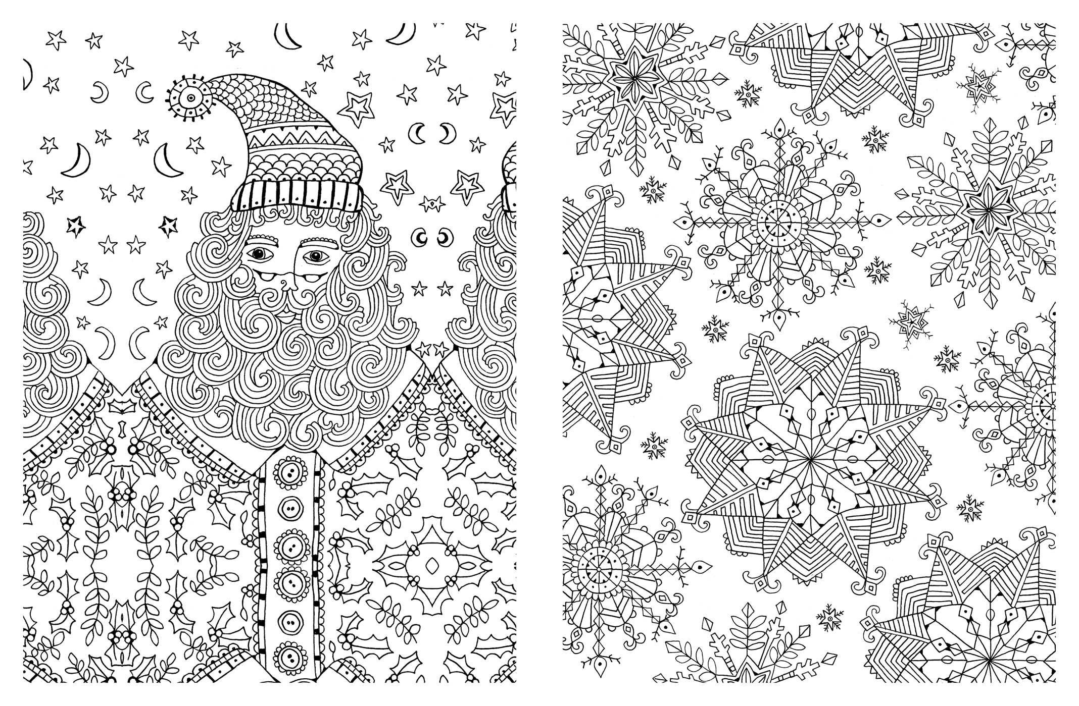 Best ideas about Adult Christmas Coloring Books . Save or Pin Adult Coloring Christmas Pages – Fun for Christmas Now.