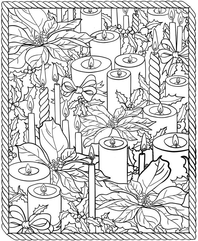 Best ideas about Adult Christmas Coloring Books . Save or Pin Christmas Coloring Pages for Adults 2019 Dr Odd Now.