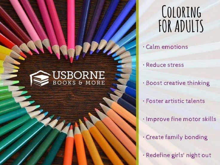 Best ideas about Adult Coloring Books Benefits . Save or Pin 52 Best images about Usborne on Pinterest Now.