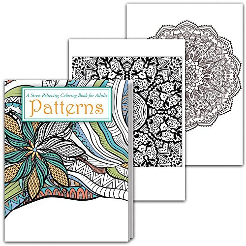 Best ideas about Adult Coloring Books Stress Relieving Patterns . Save or Pin Patterns Stress Relieving Adult Coloring Book Import It All Now.