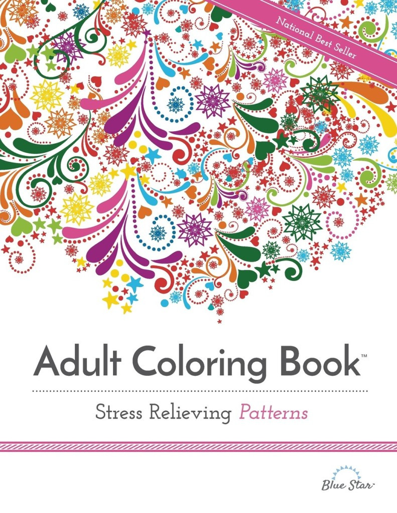 Best ideas about Adult Coloring Books Stress Relieving Patterns . Save or Pin Relieve Stress with Adult Coloring Books Life Lemons Now.