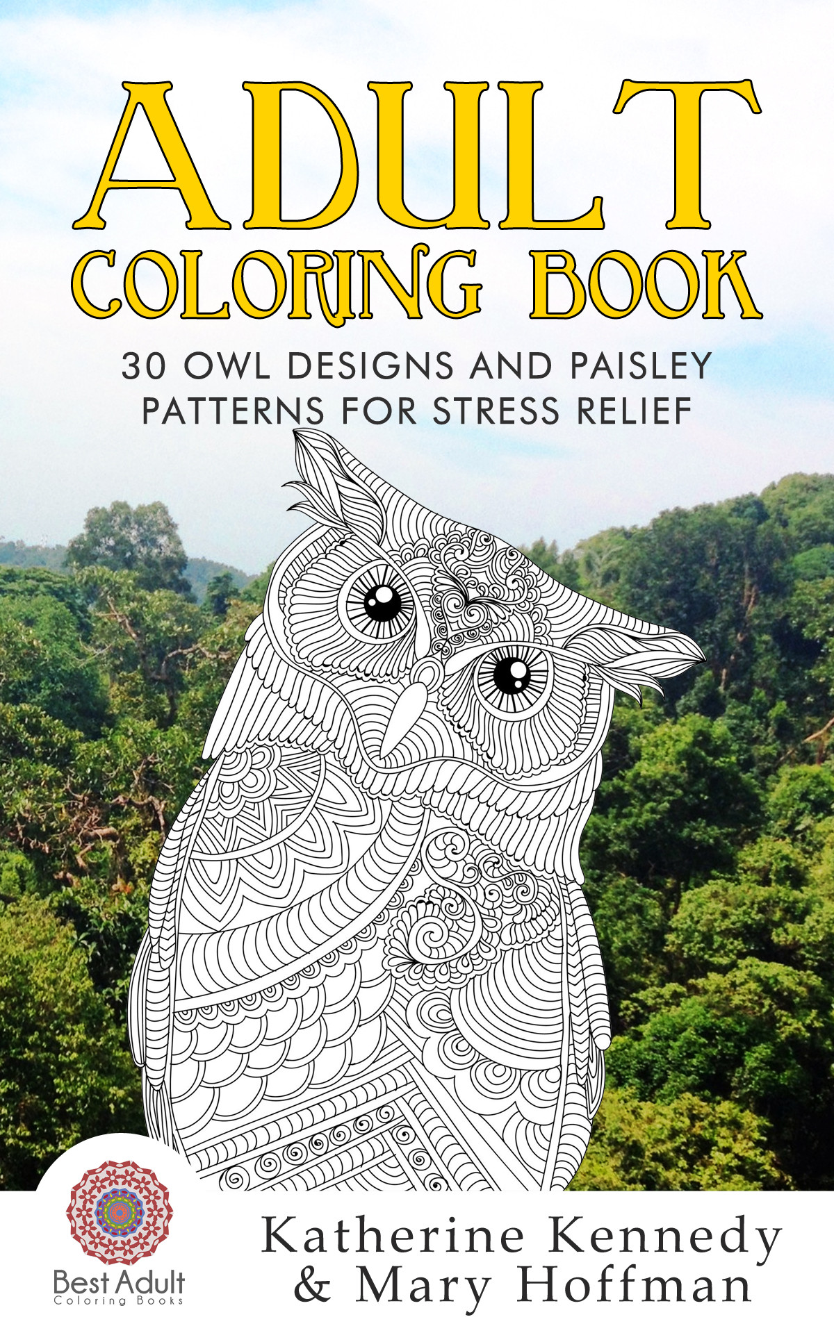 Best ideas about Adult Coloring Books Stress Relieving Patterns . Save or Pin Adult coloring book 30 owl designs and paisley patterns Now.