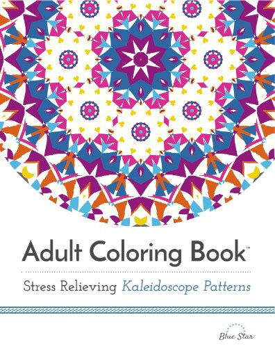 Best ideas about Adult Coloring Books Stress Relieving Patterns . Save or Pin Adult Coloring Book Stress Relieving Kaleidoscope Now.
