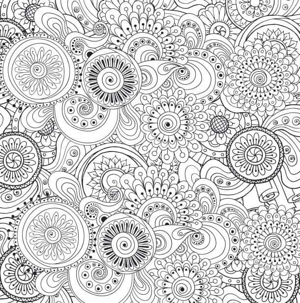 Best ideas about Adult Coloring Books Stress Relieving Patterns . Save or Pin Антистрессовая раскраска для взрослых Blue Star Coloring Now.