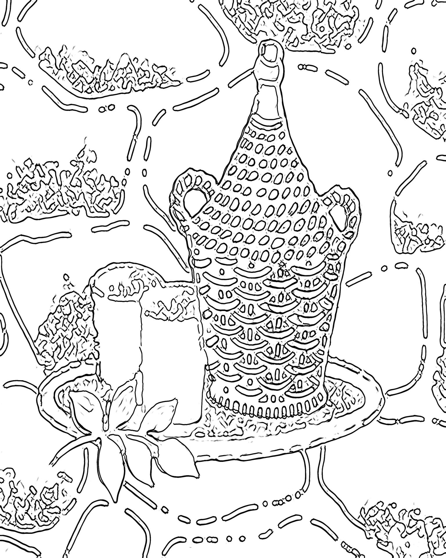 Best ideas about Adult Printable Coloring Pages . Save or Pin Free Printable Abstract Coloring Pages for Adults Now.