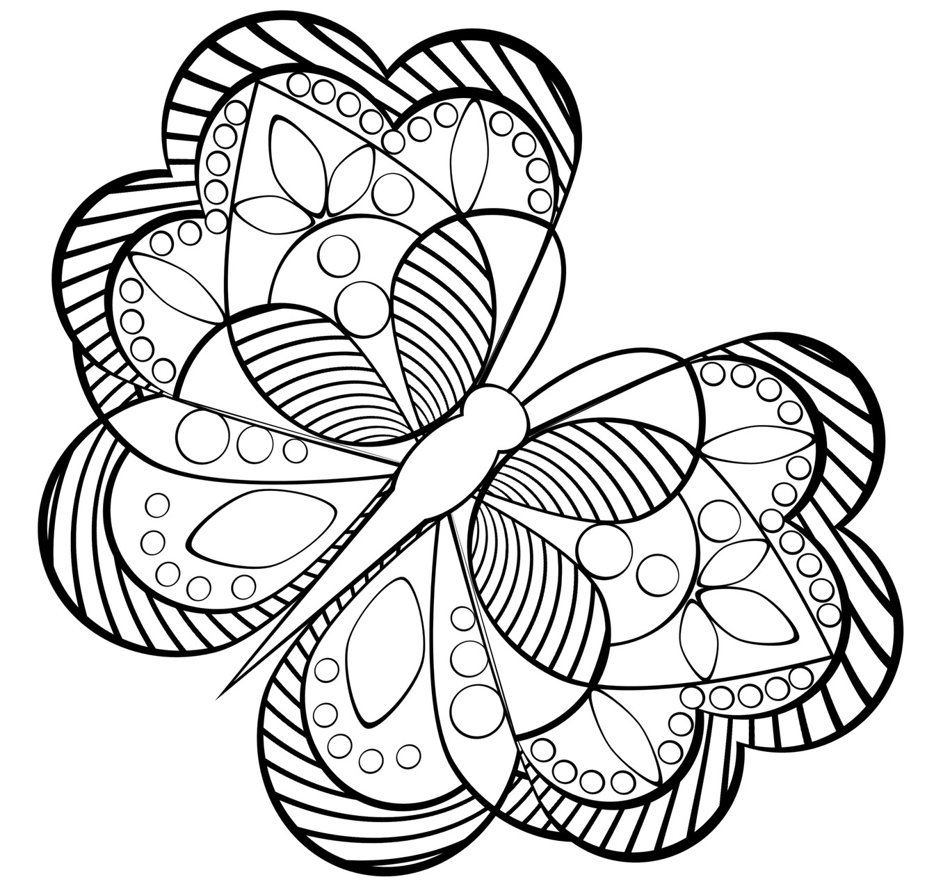 Best ideas about Adult Printable Coloring Pages . Save or Pin Free Coloring Pages For Adults Printable Detailed Image 23 Now.