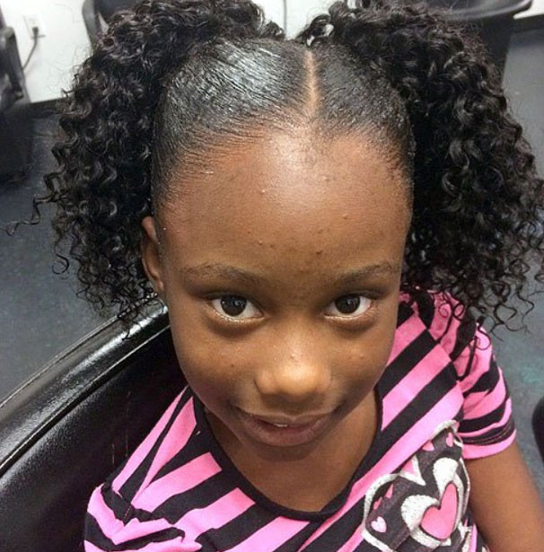 Best ideas about African Hairstyles For Kids . Save or Pin African American children hairstyles – Braids Weaves Now.