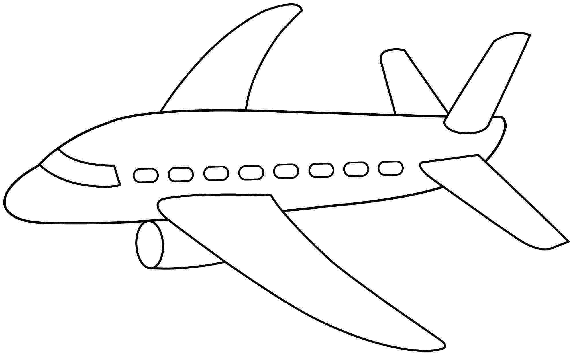 Best ideas about Airplane Coloring Pages For Kids . Save or Pin Airplane Coloring Pages for Kids Printable Now.