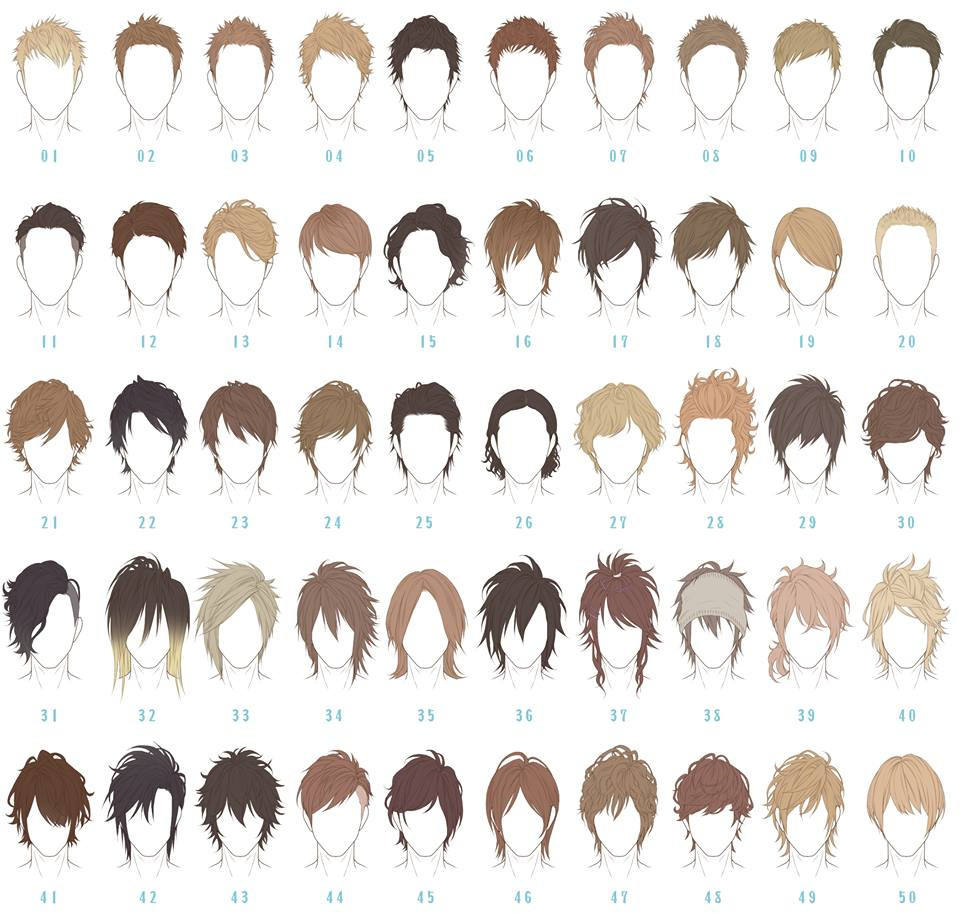 Best ideas about Anime Boy Hairstyles . Save or Pin Anime hairstyle reference guide for your next haircut Now.