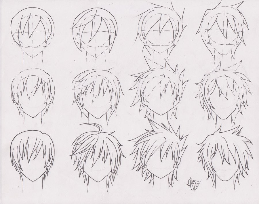 Best ideas about Anime Boy Hairstyles . Save or Pin Artistic Advice Thread Now.