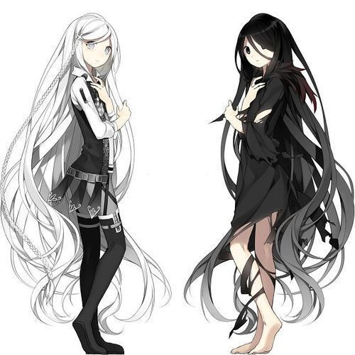 Best ideas about Anime Girl Long Hairstyles . Save or Pin Drawn long hair anime character Pencil and in color Now.