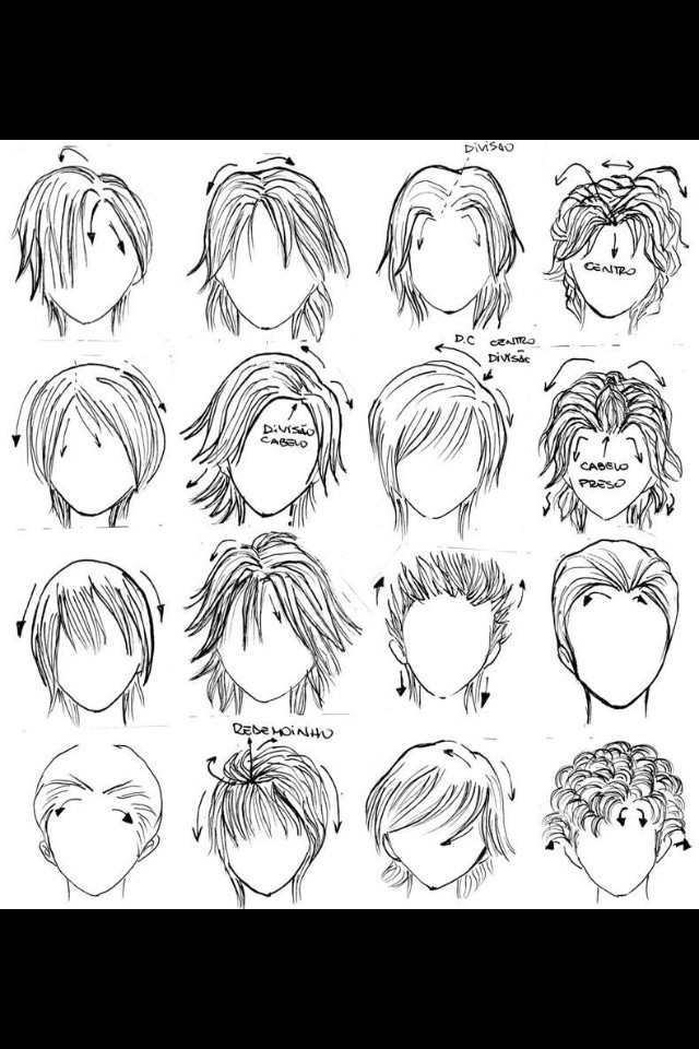 Best ideas about Anime Hair Cut . Save or Pin Anime Guy Hairstyle Now.
