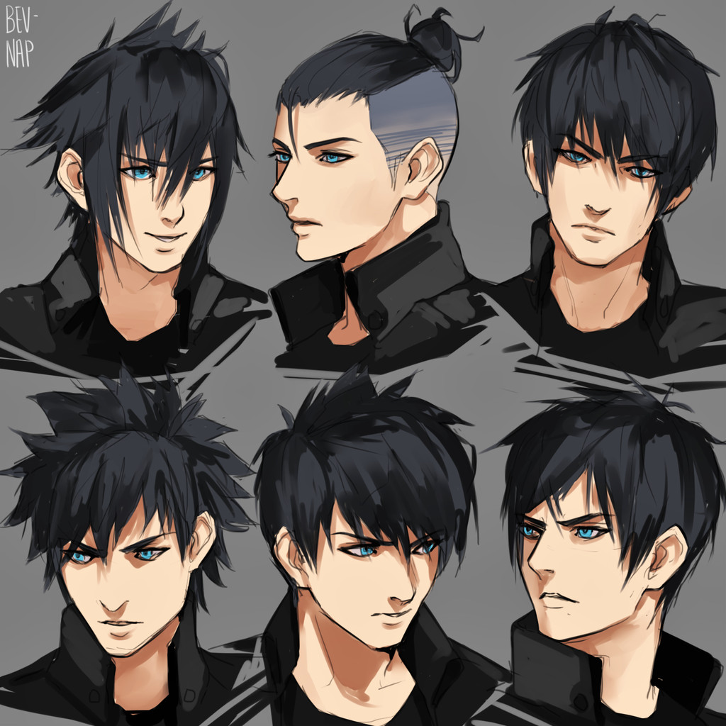 Best ideas about Anime Hair Cut . Save or Pin Noct Hairstyles by Bev Nap on DeviantArt Now.