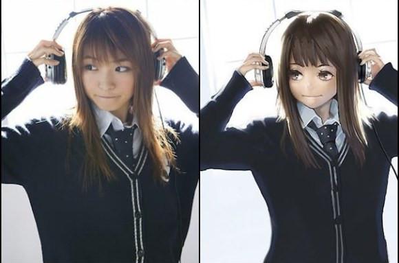 "Best ideas about Anime Hairstyles Male Real Life . Save or Pin 21 ภาพเปลี่ยนสาวในชีวิตจริง ให้กลายเป็น""การ์ตูนอนิเมะ Now."