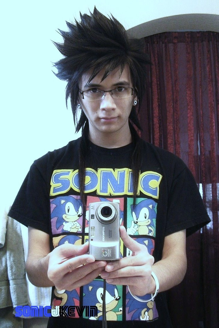 Best ideas about Anime Hairstyles Male Real Life . Save or Pin Anime Hairstyle by sonicJKevin on DeviantArt Now.