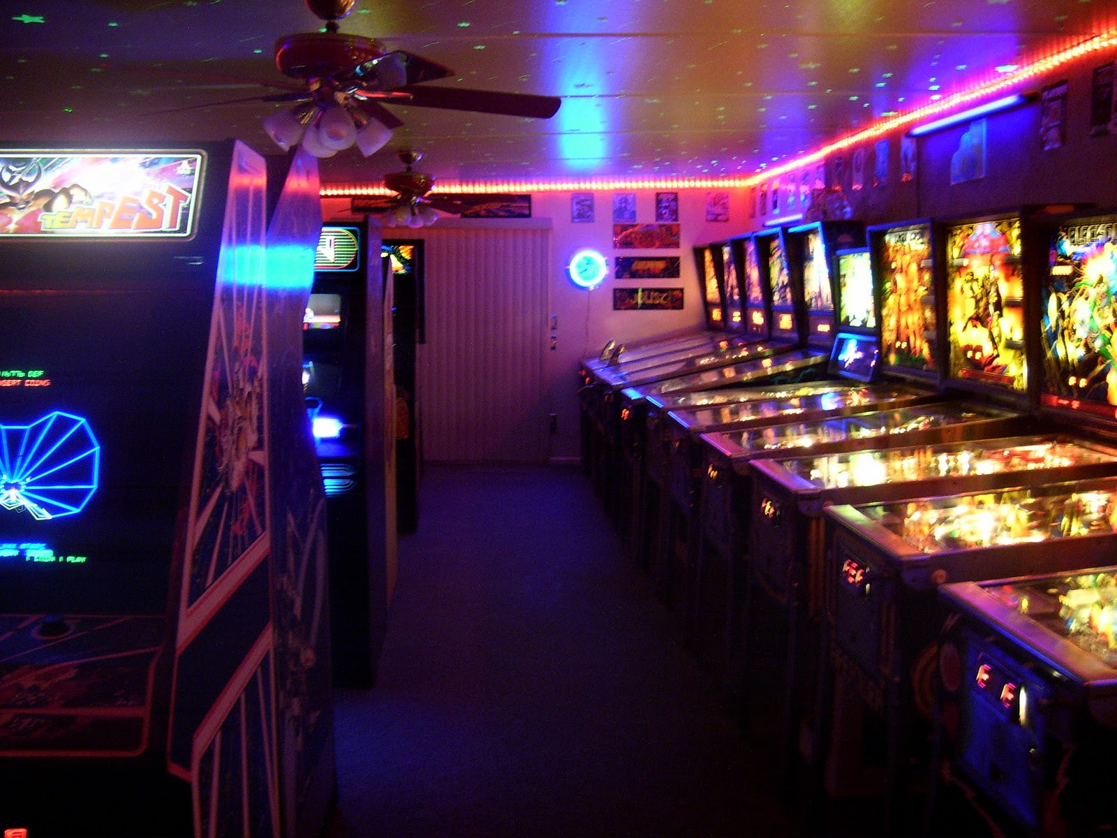 Best ideas about Arcade Game Room . Save or Pin DOUG S HOME 80 S ARCADE GAME ROOM SIX YEARS OF 80 S RE VISTED Now.